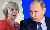 IN A FAIR FIGHT MAY WOULD LOSE DOWNING STREET TO PUTIN